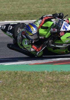 Top ten di Hikari Okubo in Supersport. Prova sfortunata per Morais.